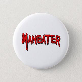 Maneater 2 Inch Round Button