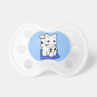 Maneki Neco Lucky Cat  Baby Pacifier