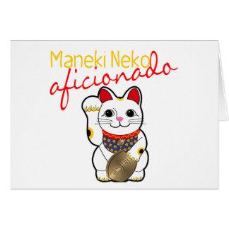Maneki Neko Aficionado Card