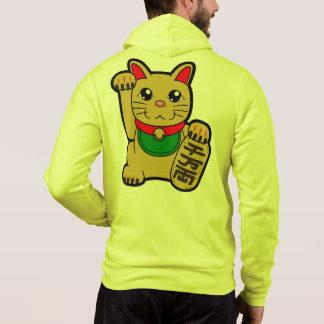 Maneki Neko: Golden Lucky Cat Hoodie