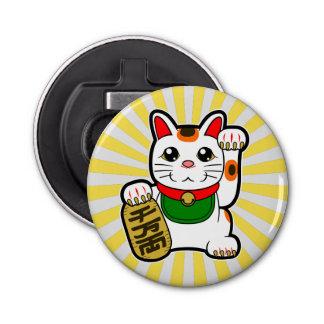 Maneki Neko: Japanese Lucky Cat Button Bottle Opener