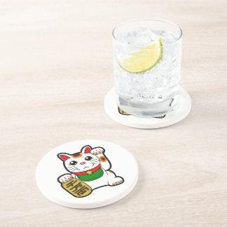 Maneki Neko: Japanese Lucky Cat Coaster