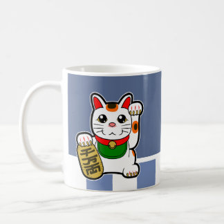 Maneki Neko: Japanese Lucky Cat Coffee Mug