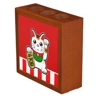Maneki Neko: Japanese Lucky Cat Desk Organizer
