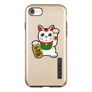 Maneki Neko: Japanese Lucky Cat Incipio DualPro Shine iPhone 8/7 Case