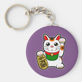 Maneki Neko: Japanese Lucky Cat Keychain