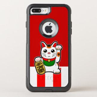 Maneki Neko: Japanese Lucky Cat OtterBox Commuter iPhone 8 Plus/7 Plus Case