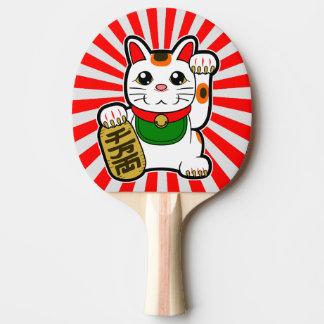 Maneki Neko: Japanese Lucky Cat Ping Pong Paddle