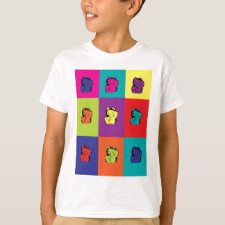Maneki Neko Kitty Pop Art T-Shirt