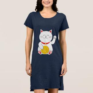 Maneki Neko Lucky Cat Bitcoin Dress