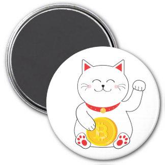 Maneki Neko Lucky Cat Bitcoin Magnet