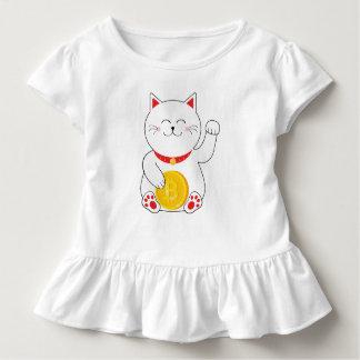 Maneki Neko Lucky Cat Bitcoin Toddler Shirt
