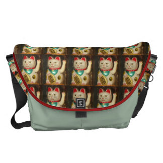 Maneki-neko, Lucky cat, Winkekatze Commuter Bag