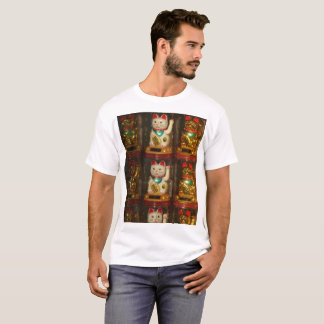 Maneki-neko, Lucky cat, Winkekatze T-Shirt