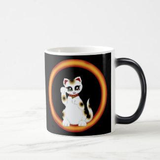 Maneki Neko Magic Mug