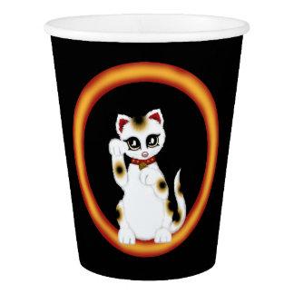 Maneki Neko Paper Cup