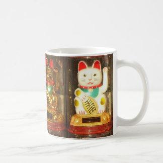 Maneki-neko, Winke-Glueckskatzen, Winkekatze Coffee Mug