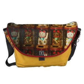 Maneki-neko, Winke-Glueckskatzen, Winkekatze Commuter Bags
