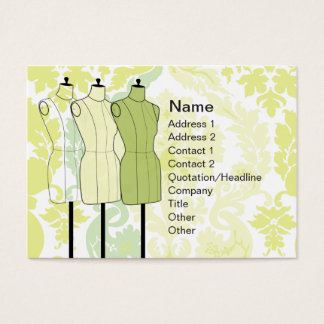 Manequins - Chubby Business Card