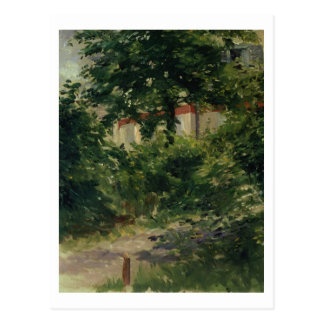 Manet | A Corner of the Garden in Rueil, 1882 Postcard