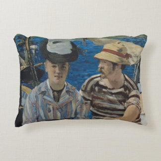 Manet | Argenteuil, 1874 Decorative Pillow