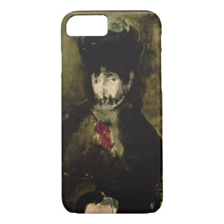 Manet | Berthe Morisot Wearing a Veil, 1872 iPhone 7 Case