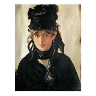 Manet | Berthe Morisot with a Bouquet of Violets Postcard