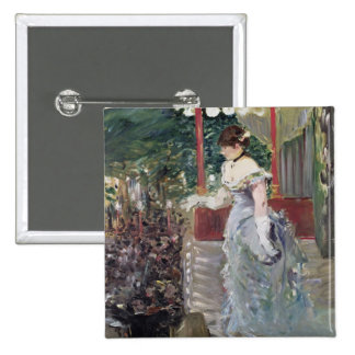 Manet | Cafe Concert, 1879 2 Inch Square Button