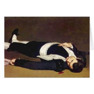 Manet Dead Matador Postcard