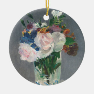 Manet | Flowers in a Crystal Vase, c.1882 Ceramic Ornament