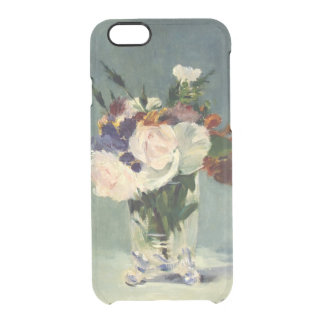 Manet Flowers iPhone 6/6S Clear Case