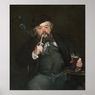 Manet, Le Bon Bock Poster
