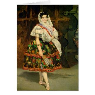 Manet | Lola de Valence, 1862 Card