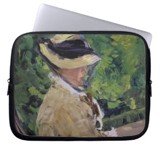 Manet | Madame Manet at Bellevue Laptop Sleeves