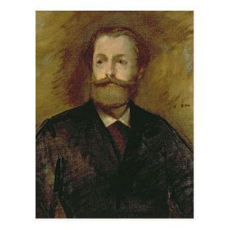 Manet | Portrait of Antonin Proust  c.1877-80 Postcard