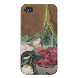 Manet | Stem of Peonies and Secateurs, c.1864 Case For iPhone 4