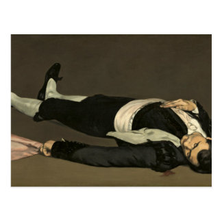 Manet | The Dead Toreador, c.1864 Postcard