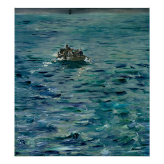 Manet | The Escape of Henri de Rochefort Poster