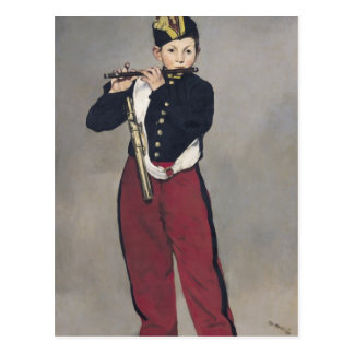 Manet | The Fifer, 1866 Postcard