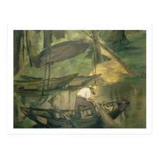 Manet | The Fisherman, c.1861 Postcard
