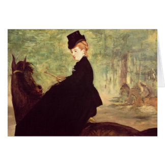 Manet | The Horsewoman, 1875 Card