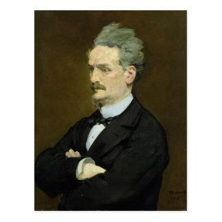 Manet | The Journalist Henri Rochefort , 1881 Postcard