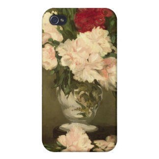 Manet | Vase of Peonies on a Small Pedestal, 1864 Case For The iPhone 4