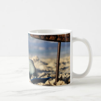 Manfred the Manatee at the Beach Coffee Mug
