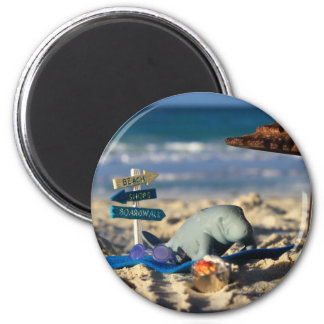 Manfred the Manatee at the Beach Magnet