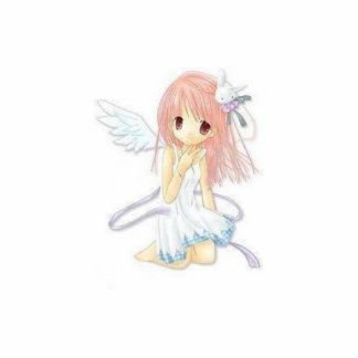 Manga Angel photo sculpture