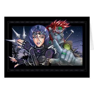 Manga Bounty Hunters Card