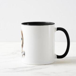 manga cute girl mug