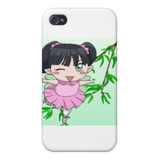 Manga fairies design by Nekoni Cover For iPhone 4