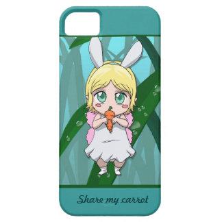 Manga fairy, Share my carrot iPhone 5 Covers